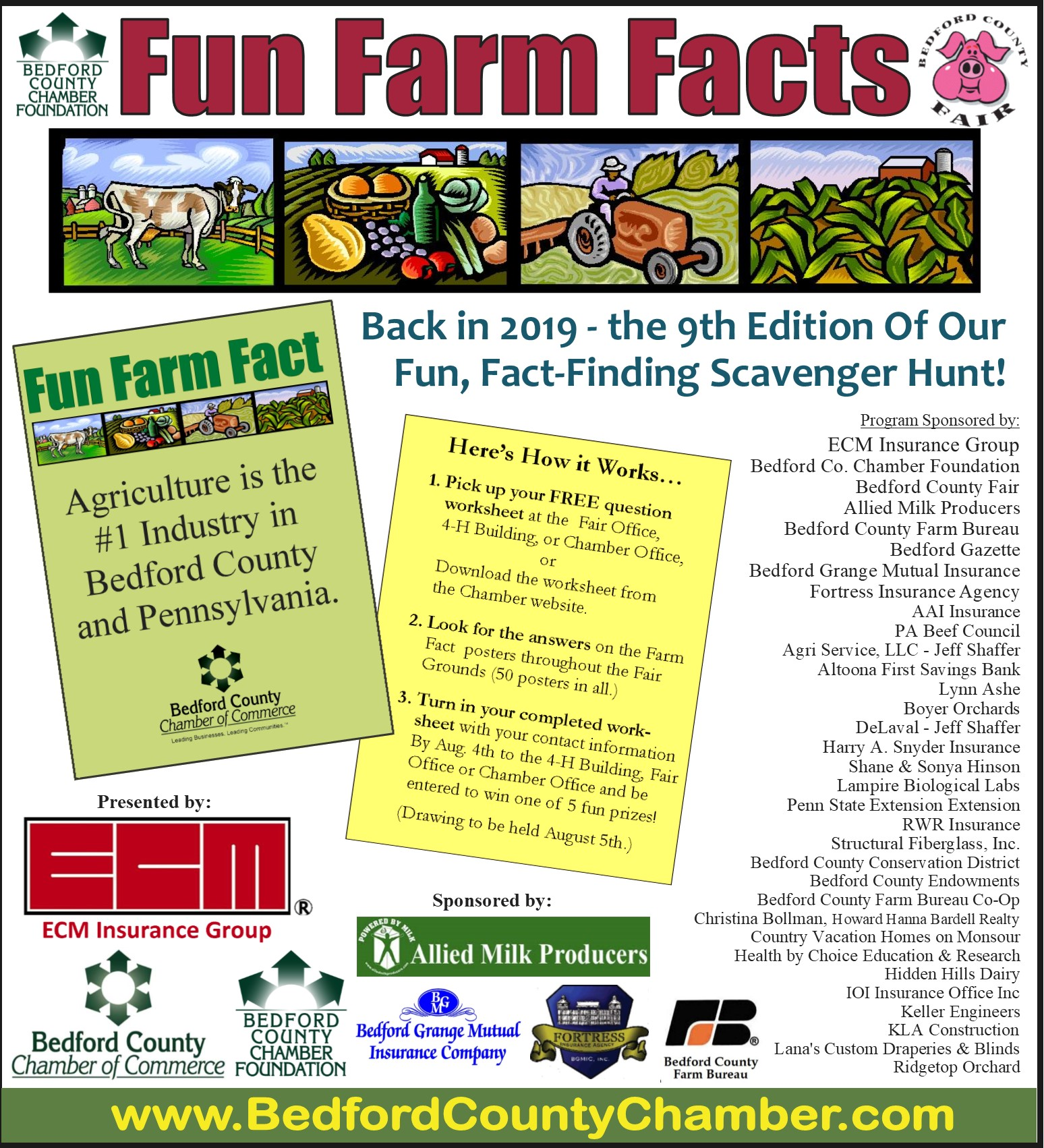 Fact-Finding Scavenger Hunt: Fun Farm Facts at the Fair - Bedford